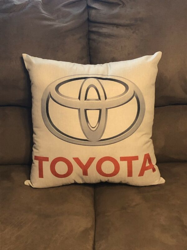 Handmade Toyota Pillow