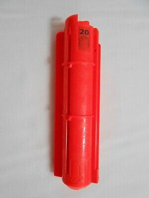 Nerf Vortex 20 Disc Clip Ammo orange Magazine Cartridge C-048B