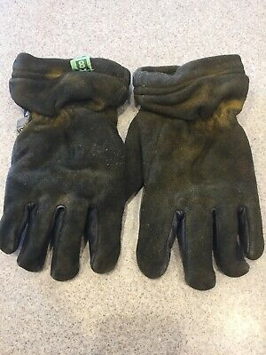 Honeywell Gl-9550 Firefighter Turnout Gloves Kangaroo Skin Size Medium Guc