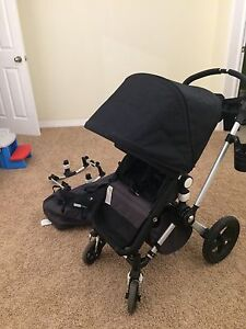 Bugaboo Chameleon Stroller with bassinet and car seat adapter