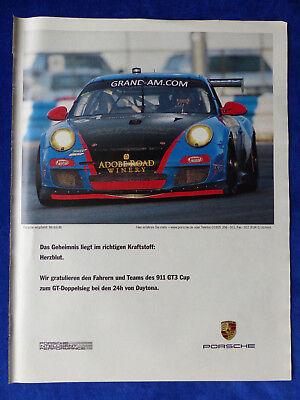 PORSCHE 911 GT3 CUP GT DAYTONA WERBEANZEIGE REKLAME ADVERTISEMENT 2011 017