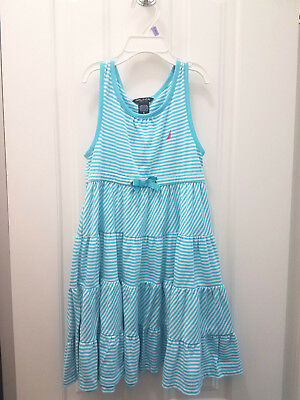 Nautica Fit and Flare Dress for Girls (Size: 6)