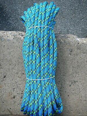 Sterling 24 Strand Arborist Rope Tree Line Climbing Line 716 X 92 Scion Blue
