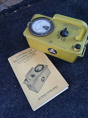 Geiger Counter Radiological Survey Meter Cd Industrial