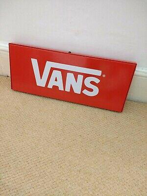 Vans Metal Shop Sign Skateboard Off The Wall