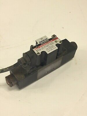 Daikin Solenoid Operated Valve, JSO-G02-4CB-20-N, 200VAC, Used, WARRANTY