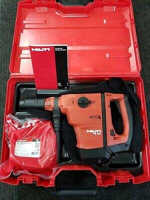 New Hilti Te 60-atc-avr Te60 Rotary Hammer Sds Max Combihammer 2132224