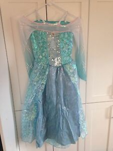Elsa costume girls sz 7-8