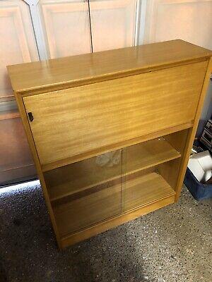 Vintage Gibbs Teak Bureau/ Cabinet