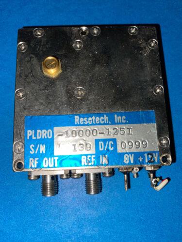 Resotech Phase-Locked Dielectric Resonant Oscillator 10 GHz (PLDRO-10000-125I)
