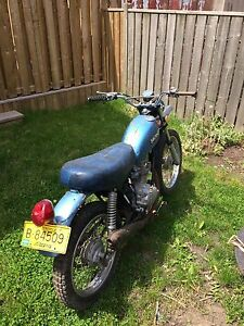 1974 Honda XL100 Street Legal Enduro Motorcycle
