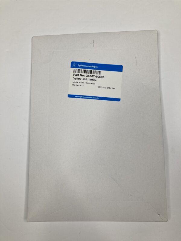 NEW - Agilent Technologies Capillary 150x0.17MM Bio G5667-60503