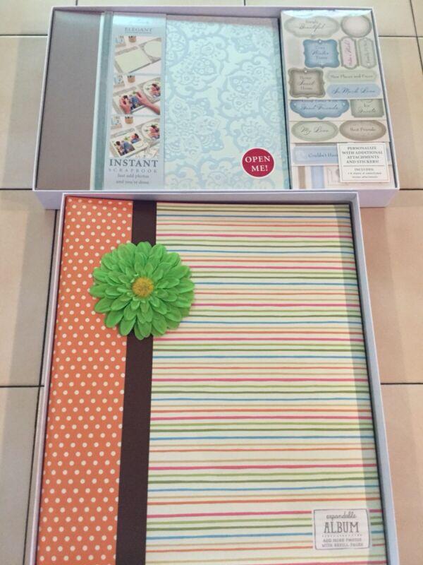 Hallmark Scrapbook Kit & Photo Album Lot New (M)