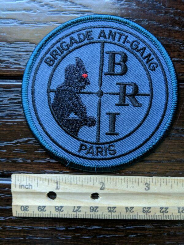 Patch Police France Brigade Anti-Gang Paris