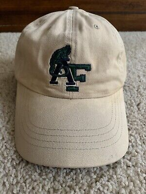 Vintage Abercrombie And Fitch Leather Strapback Hat