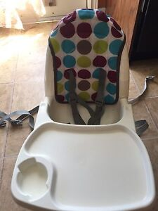 Strap on high chair