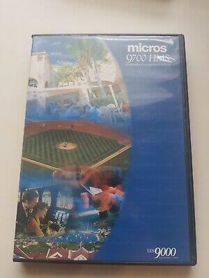 Micros 9700 Hms Pos System Installation Software Discs V 3.0 3.01