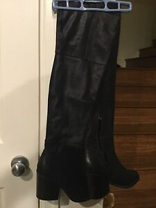 Over The Knee Genuine Leather Boots