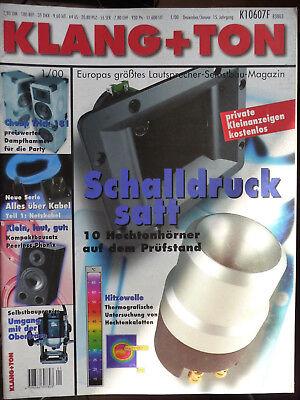 Klang&Ton Zeitschrift,1 Heft aus 2000, 2001, siehe Liste