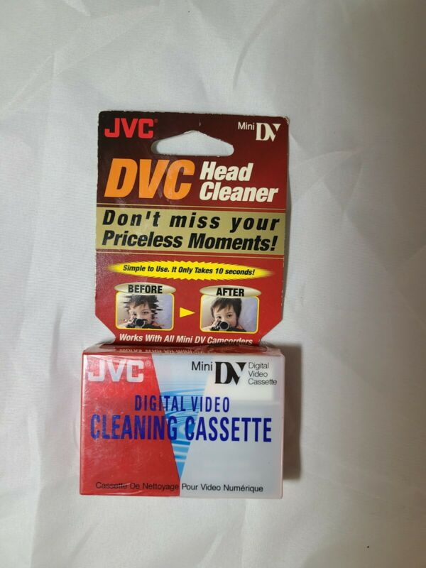 JVC DVC Head Cleaner Mini DV Cleaning Cassette M-DV2MCL New Sealed