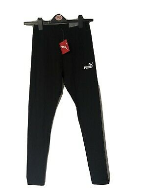 Black Puma Cotton Running Leggings Size 12