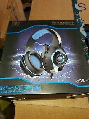 Blue Beexcellent GM-1 Gaming Headset Pro With Mic XBOX One PS4  Microphone