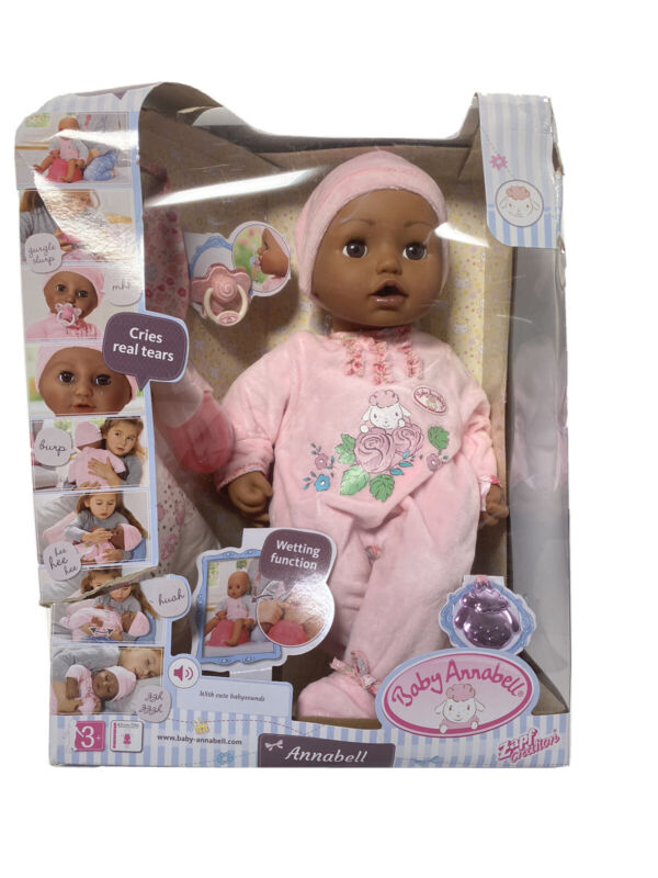 Baby Annabell Brown Eyes Soft-Bodied Baby Doll | Factory Sealed!! Read Below!! |
