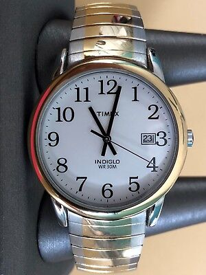 Indiglo Mens Dress Watch - Timex Men's 'Indiglo' Dress Watch. WR-30M. Excellent Used Condition.
