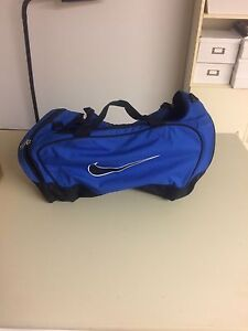 Nike blue duffle bag