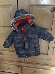 Carters Camouflage Winter Coat - 24 months