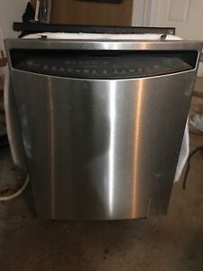GE Profile Stainless Steel dishwasher