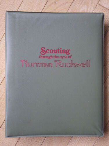VTG BSA Scouting Through The Eyes Of Norman Rockwell 22 Liberia First Day Covers