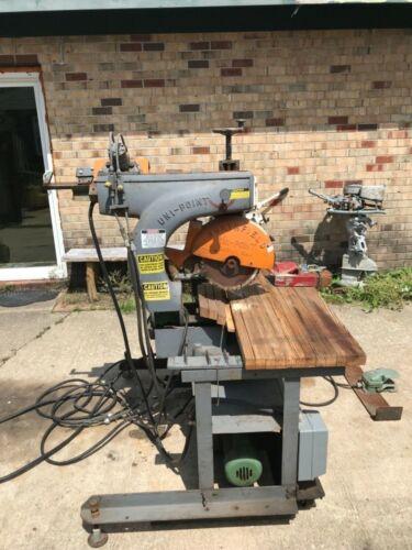Northfield uni-point X36AF heavy duty radial arm saw. 3 phase with hydraulic fee