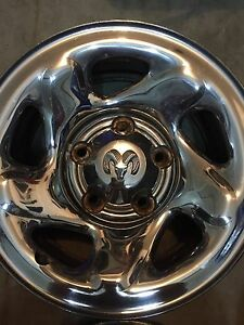 "16"" DODGE 5X5.5 bolt pattern RIMS Kitchener / Waterloo Kitchener Area image 4"