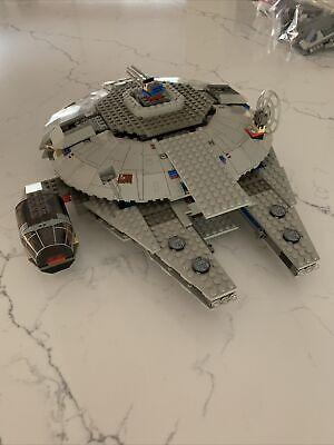 Lego Star Wars millennium falcon 7190 has manual, mini figs read description