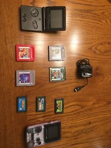 Game boy colour and game boy sp with games *120$ or best offer*