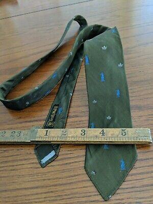 1950s Men's Ties, Bow Ties – Vintage, Skinny, Knit Vintage iridescent 1950's 60's slim chess Tie Skinny 2.5