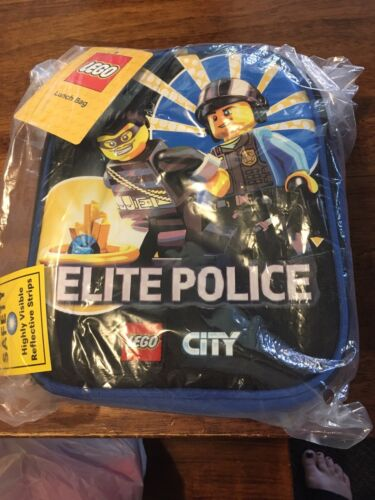 new city elite police insulated lunch bag