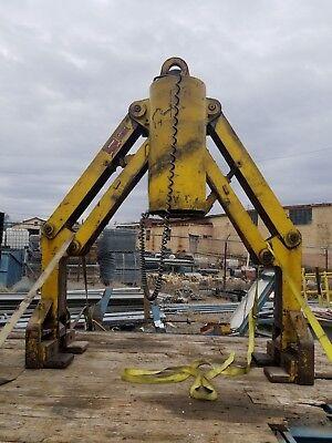 Burro Lifting Cf Crane H4 Captivity 40000 Lbs Model 071006 H4 Lifter Torqam