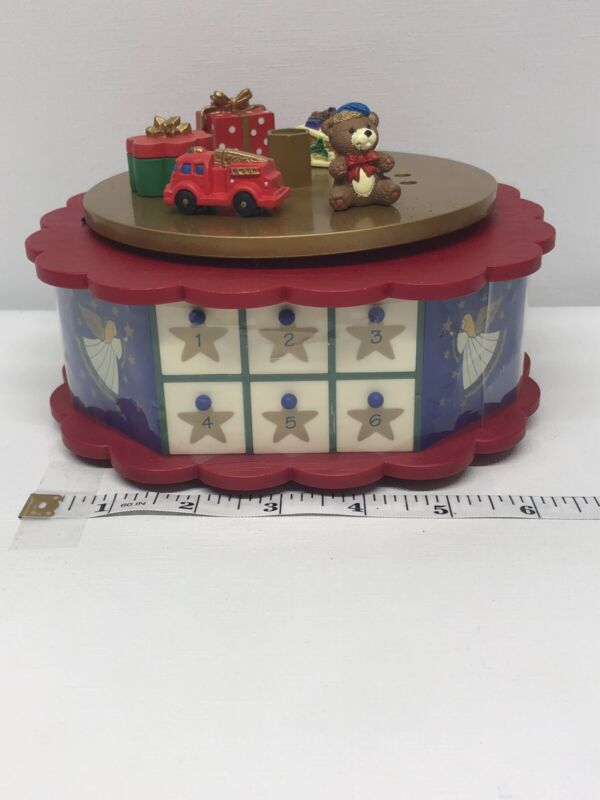 Avon Advent Christmas Tree Replacement Base And Set Of 24 Drawers Only