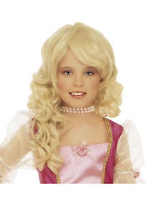 Perücke Glamour Girl blond f Kinder Prinzessin - Glamour Girl Blond Perücke