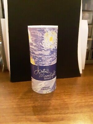 Revlon JONTUE MOONLIGHT Perfumed Body Powder 2.5 oz BRAND NEW FREE SHIPPING USA Usa Body Powder