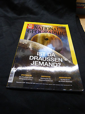 National Geographic  -  Juli 2014  -  Ist da draussen jemand ?