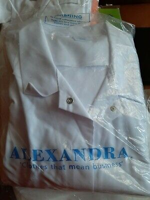 Alexandra laboratory or doctors long white coat triple XL 58-in