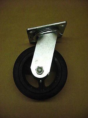 Shepherd 9493mw 6 Mold On Rubber Swivel Caster 759996 4 X 4-12 Plate M-6