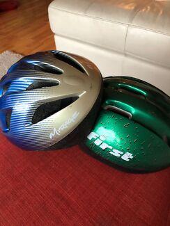Push bike helmets