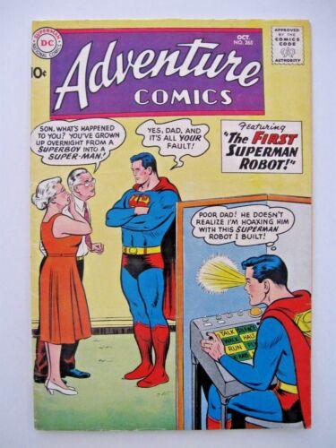 Adventure Comics #265 FN Condition