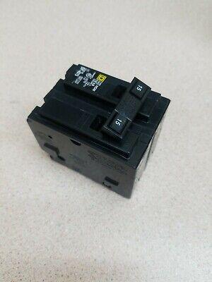 Circuit Breaker Square D Homeline Hom215 2 Pole 15 Amp 120240v Plug In