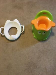 Potty and training seat