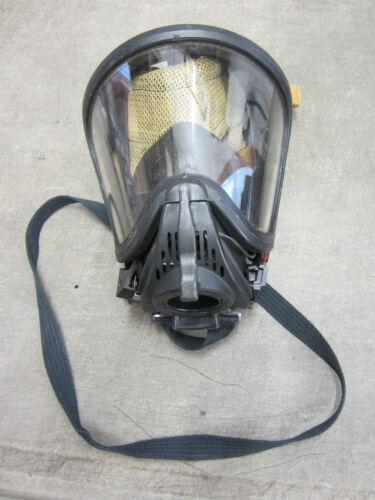 Medium MSA SCBA Ultra Elite Full Face Mask HUD Amplifier Brackets Firehawk VGC